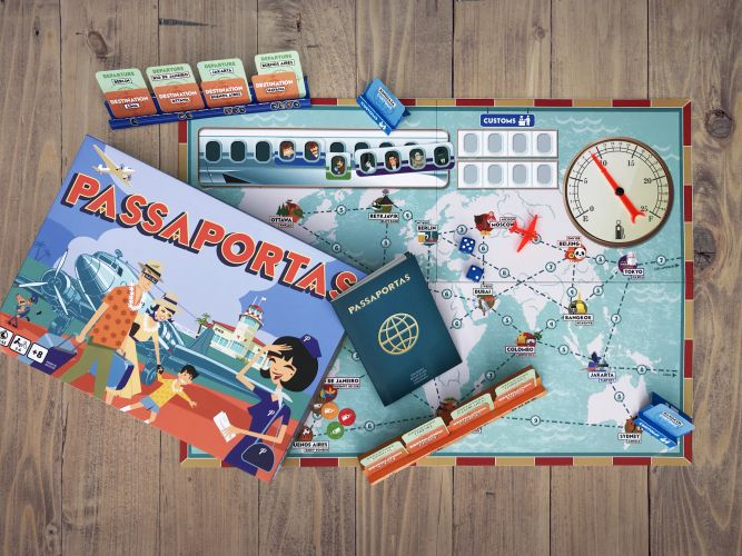 Vintagespel Passaportas
